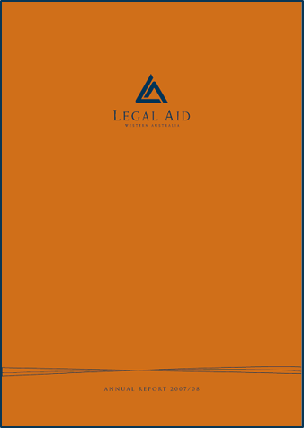 Cover of the 2007-08 annual report