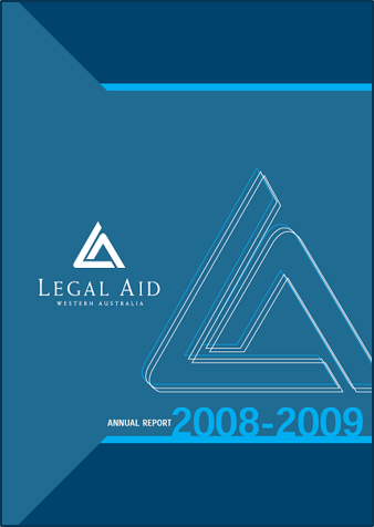 Cover of the 2008-09 annual report