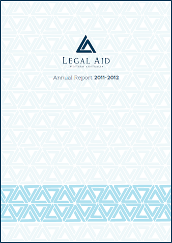 Cover of the 2011-12 annual report