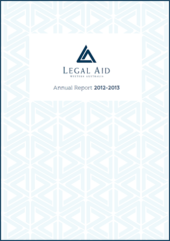 Cover of the 2012-13 annual report