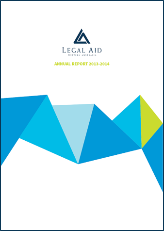 Cover of the 2013-14 annual report