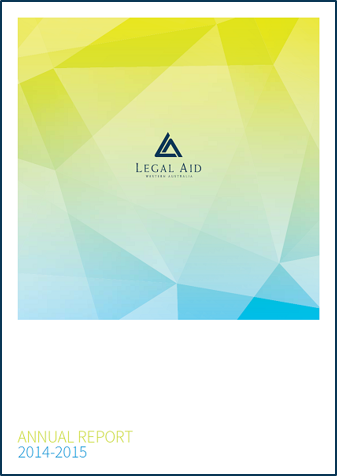 Cover of the 2014-15 annual report