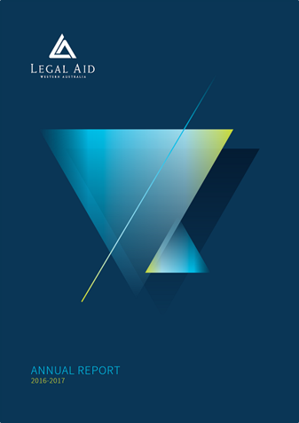 Cover of the 2016-17 annual report
