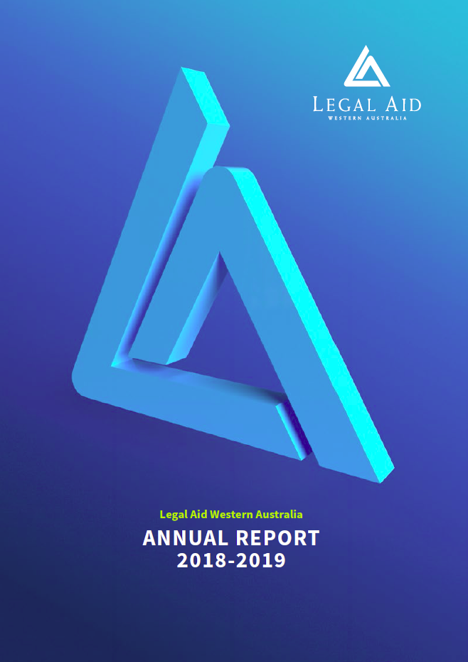 2018-19 Annual report front cover