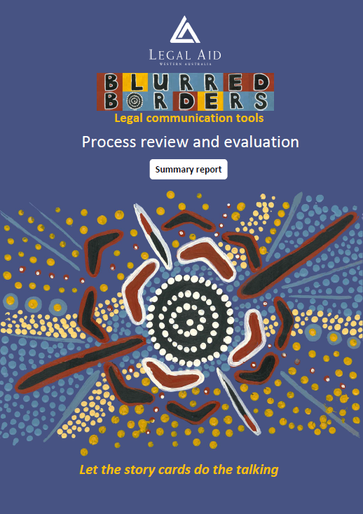 Cover of Blurred Borders  Process Review Summary