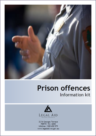 Prison Offences Kit Cover image