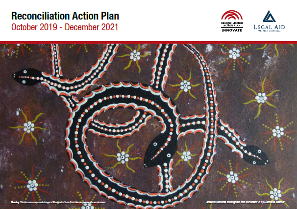 Cover of the 2019-2021 Reconciliation Action Plan