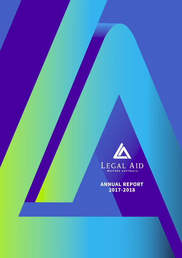 Cover of the 2017-18 annual report