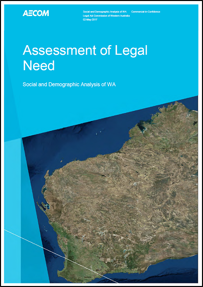 Assessment of legal need demographic report