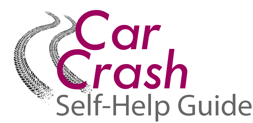 car crash self-help guide logo