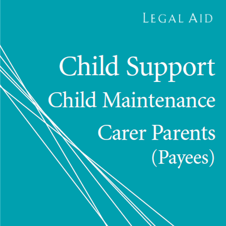 Cover image of child support payee pamphlet