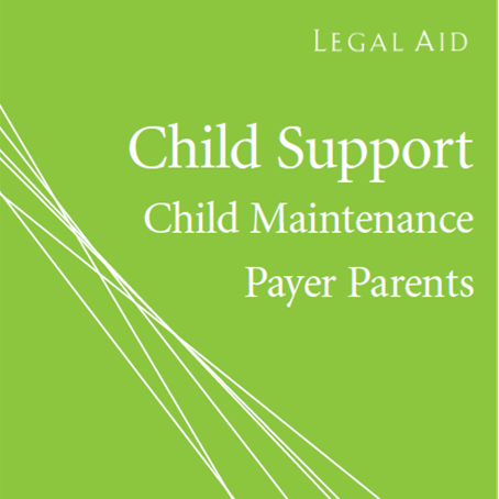 Cover image of child support payer pamphlet