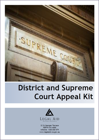 Criminal appeals from District or Supreme Court decisions