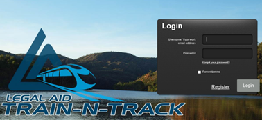 legalaid train and track login
