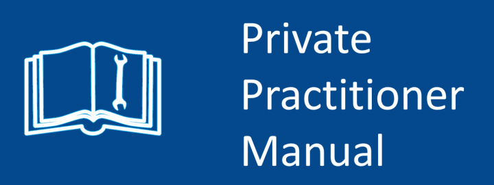 Private Practitioner Manual logo
