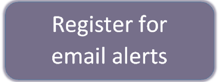Register for email alerts button