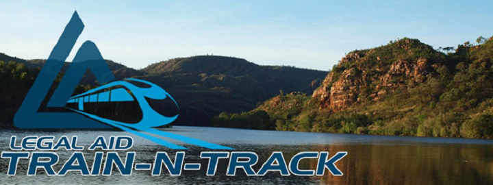 Train and track logo