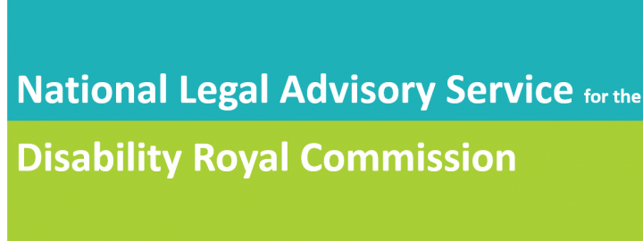 National Legal Advisory Service for Disability Royal Commission